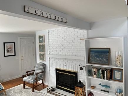 Chatham Cape Cod vacation rental - Bright, sunny, and spacious living room.