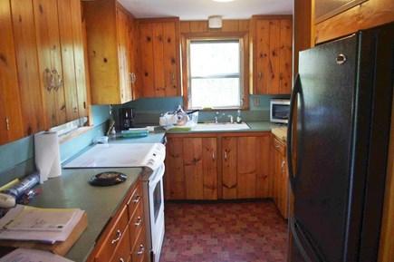 Wellfleet Cape Cod vacation rental - Full kitchen with dishwasher, electric stove, full size fridge