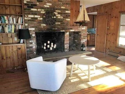 Wellfleet Cape Cod vacation rental - Fireplace