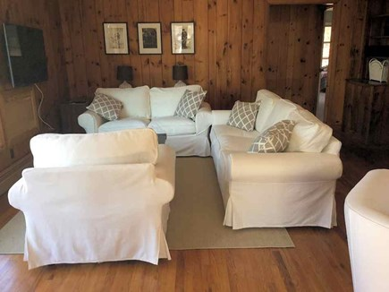 Wellfleet Cape Cod vacation rental - Living Room with Cable TV and Wi-fi Internet access