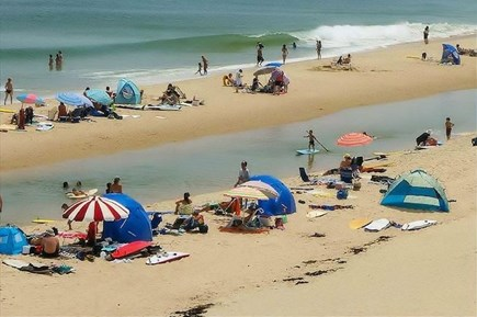 South Wellfleet Cape Cod vacation rental - 350 steps from the cottage is this view.