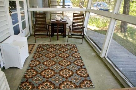 South Wellfleet Cape Cod vacation rental - Screened-in porch