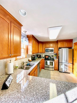 Dennis Port Cape Cod vacation rental - Kitchen with all new appliances