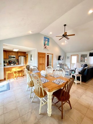 Dennis Port Cape Cod vacation rental - Large open dining area