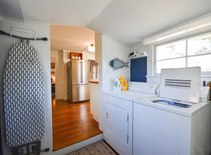 Chatham Cape Cod vacation rental - Main entryway - mudroom/laundry room off of the kitchen