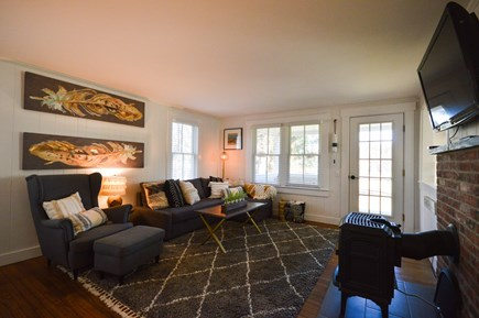 Chatham Cape Cod vacation rental - Living room opens onto the cozy front porch