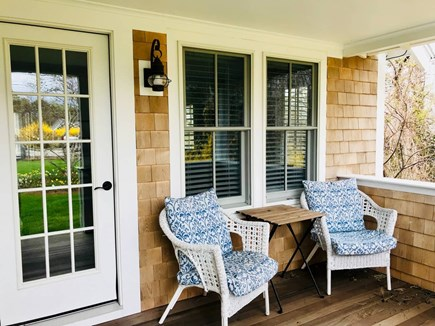 Chatham Cape Cod vacation rental - Cozy front porch with outdoor seating