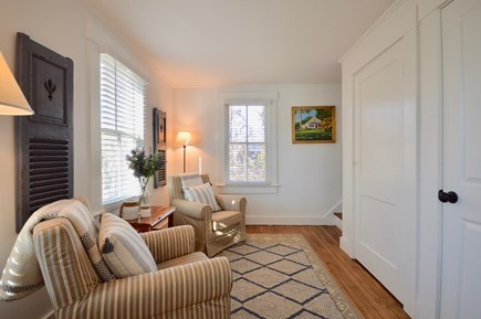 Chatham Cape Cod vacation rental - Cozy reading room next to the first floor queen bedroom