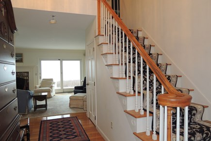West Harwich Cape Cod vacation rental - Front entry way