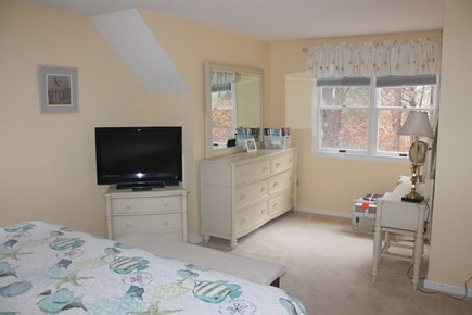 Eastham, 3960 - First Encounter Cape Cod vacation rental - Upstairs master bedroom with TV