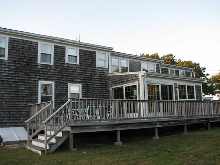 Chatham near Ridgevale Beach  Cape Cod vacation rental - South facing Deck for sun all day.
