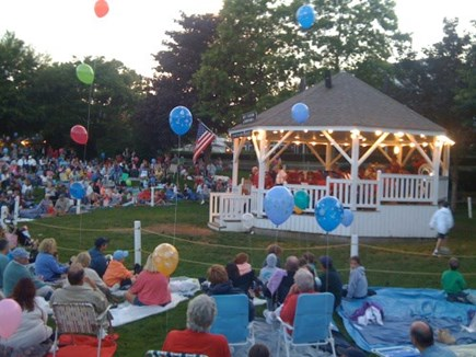 Chatham near Ridgevale Beach Cape Cod vacation rental - Band time in Chatham each Friday evening. Fun for young and old.