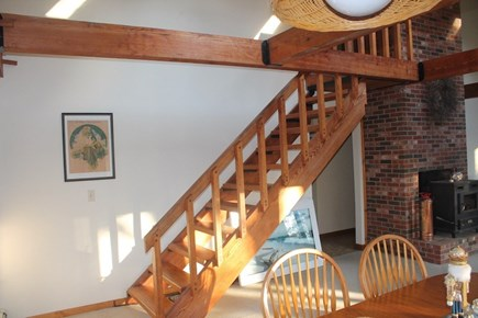 Eastham, 3961 - Thumpertown Cape Cod vacation rental - Stairs to second floor