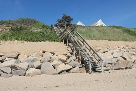 Eastham, 3961 - Thumpertown Cape Cod vacation rental - Stairs to beach