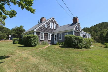 Truro Cape Cod vacation rental - Front of House and Huge Yard!