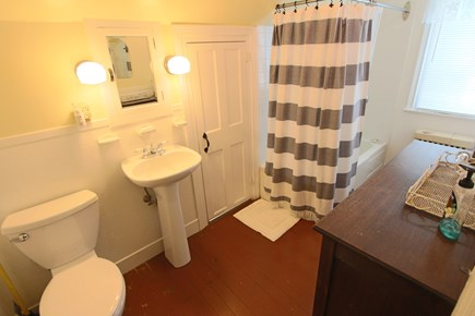 Truro Cape Cod vacation rental - Bathroom on Second Floor with Tub and Shower