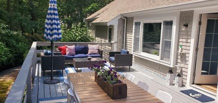 Cotuit Cotuit vacation rental - Relax on the back porch