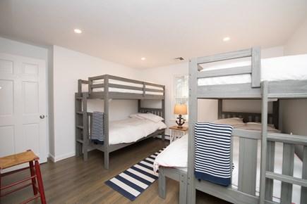 Cotuit Cotuit vacation rental - Guest Bedroom 2 - Bunk Room (Sleeps 5, 3 Twin Beds, 1 Full Bed)