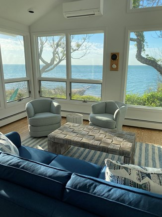 Brewster Cape Cod vacation rental - Water views and light galore from the air-conditioned living room
