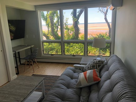 Brewster Cape Cod vacation rental - Take in the Bay from the air-conditioned front bedroom/study
