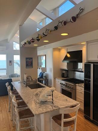Brewster Cape Cod vacation rental - Modern gourmet kitchen with breakfast island