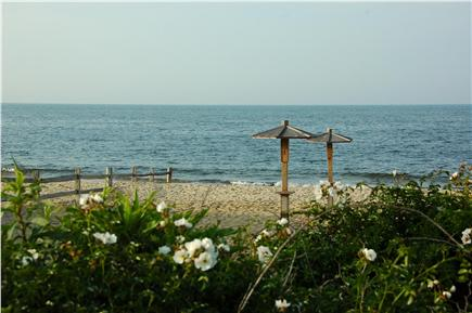 Dennis Port Cape Cod vacation rental - Beautiful Nantucket Sound beach is just across the street!