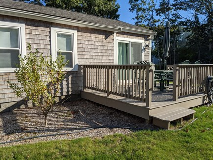 Falmouth Cape Cod vacation rental - Beautiful deck to enjoy Cape Cod sunsets