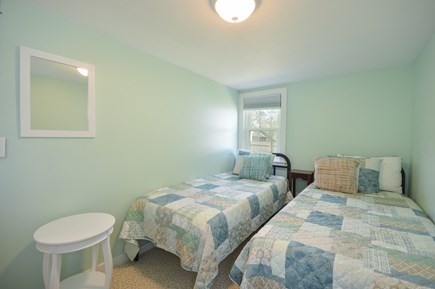 Falmouth Cape Cod vacation rental - Third bedroom with two Extra large twin beds