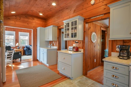 Falmouth Cape Cod vacation rental - Beautiful quartz counters and custom cabinets
