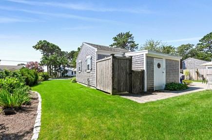 West Dennis (near West Dennis  Cape Cod vacation rental - Outside Shower - Side