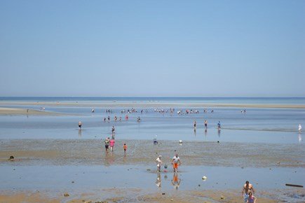 Brewster Cape Cod vacation rental - At low tide, go long on the Brewster flats!