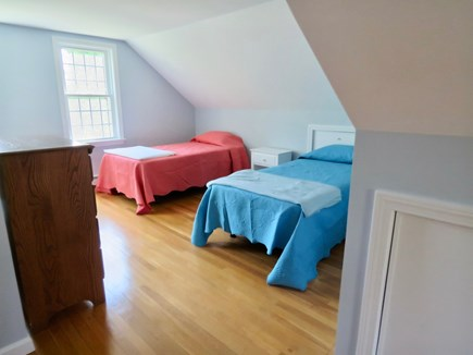 Brewster Cape Cod vacation rental - Upper level BR has four twin beds