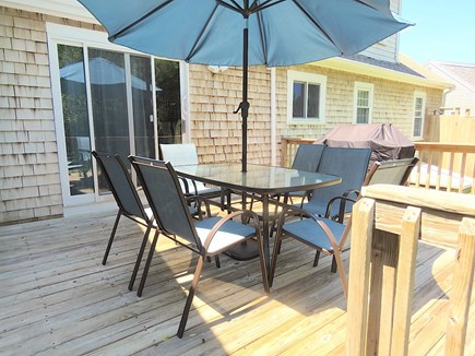 Brewster Cape Cod vacation rental - Fire up the gas grill and dine outside