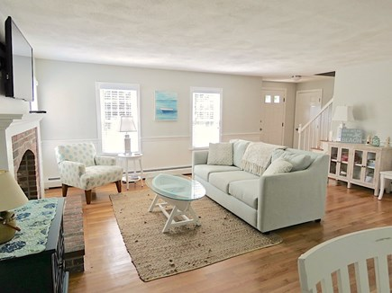 Brewster Cape Cod vacation rental - Comfy TV lounge with appealing decor and furnishings