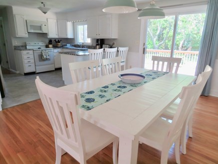 Brewster Cape Cod vacation rental - Great Dining space off the kitchen