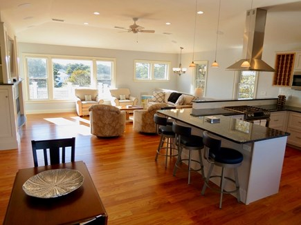 Chatham Cape Cod vacation rental - Open concept common living space.