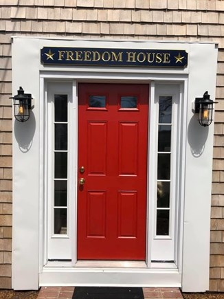 Harwich Port  Cape Cod vacation rental - Welcome to the Freedom House!
