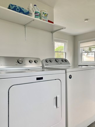 Harwich Port  Cape Cod vacation rental - Spacious Laundry Room with Full Size Washer & Dryer!
