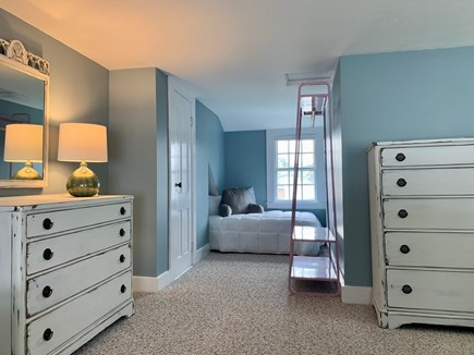 Harwich Port  Cape Cod vacation rental - Room #4 with 1 Queen Bed and 1 Twin Bed in cozy nook.