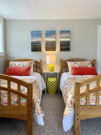 Harwich Port  Cape Cod vacation rental - Room #2 with 3 twin beds.