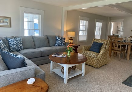 Harwich Port  Cape Cod vacation rental - Large living and dining area off the kitchen.