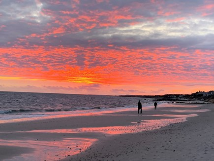 Harwich Port  Cape Cod vacation rental - Nantucket Sound sunsets just a few minute walk to the water!