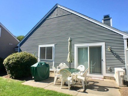 Brewster, Ocean Edge Condo  Cape Cod vacation rental - Private Patio with Gas Grille