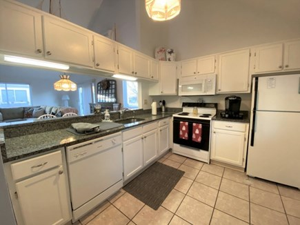Brewster, Ocean Edge Condo  Cape Cod vacation rental - Granite Kitchen