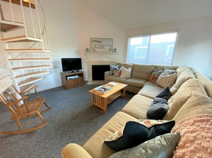 Brewster, Ocean Edge Condo  Cape Cod vacation rental - Sectional Couch