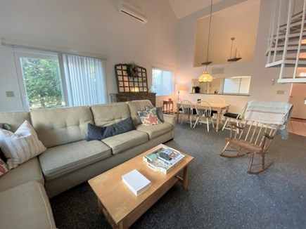 Brewster, Ocean Edge Condo  Cape Cod vacation rental - Open Living Room