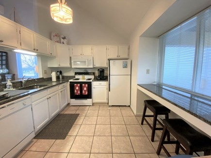 Brewster, Ocean Edge Condo  Cape Cod vacation rental - Kitchen with Breakfast Bar