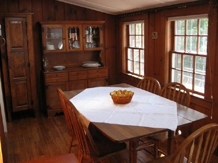 Harwich, Pleasant Lake Cape Cod vacation rental - Dining room