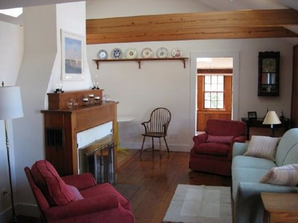 Harwich, Pleasant Lake Cape Cod vacation rental - Living rm. Dining rm thru the door. Kitchen is around the corner