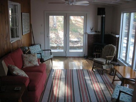 Harwich, Pleasant Lake Cape Cod vacation rental - Sun room which is accessed thru the kitchen